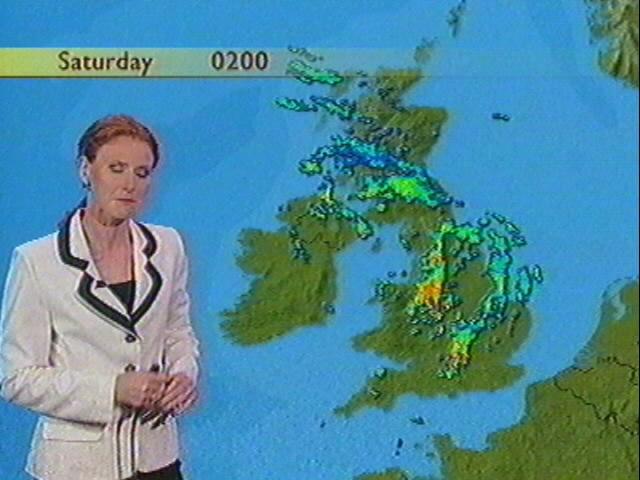BBC Radar for Thunderstorm